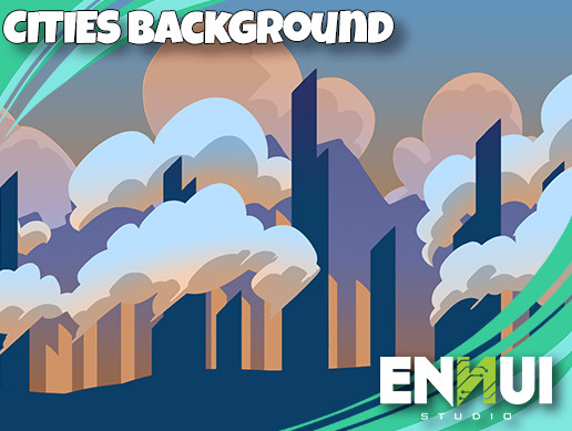 2D Cities Backgrounds