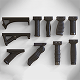 Foregrip Attachments Pack - Vertical - Angled - Folding - Grip - Bipod - PBR