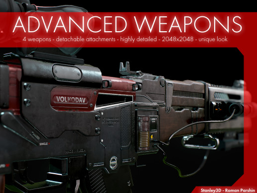 Advanced Weapons - Pack