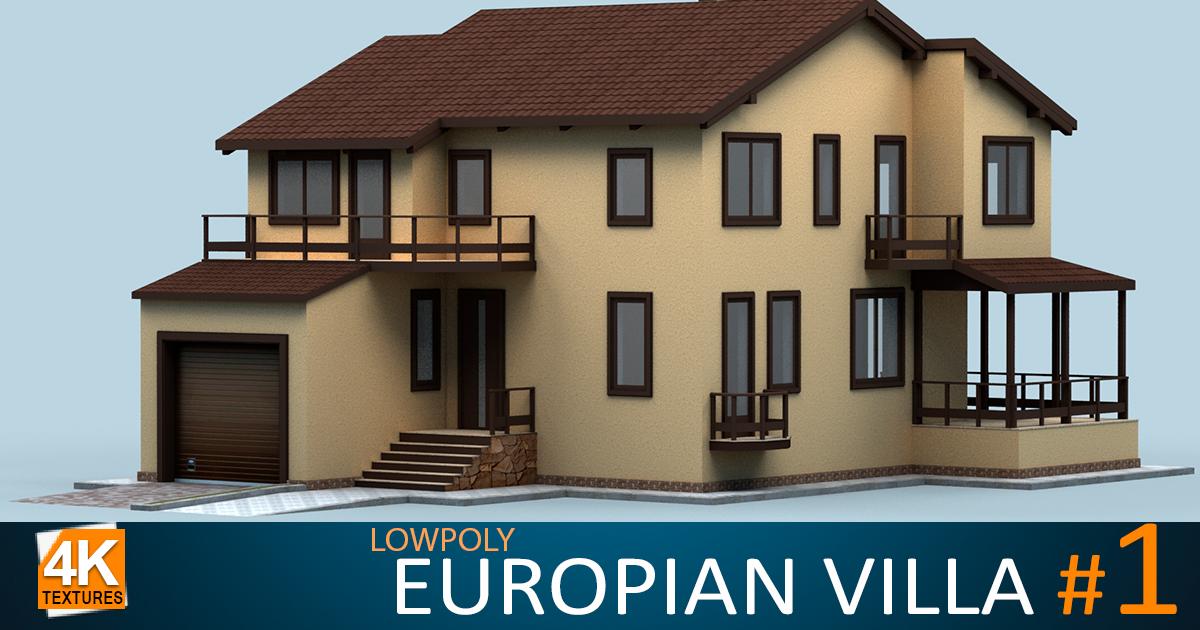 European Villa #1