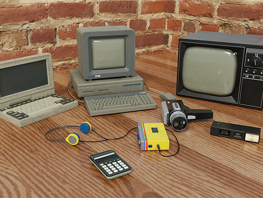 80s Electronics Pack 2