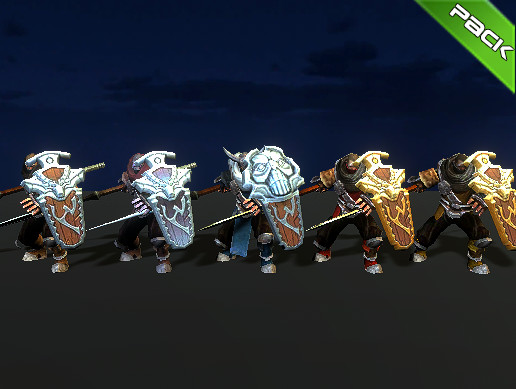 Heavy Spear Pack