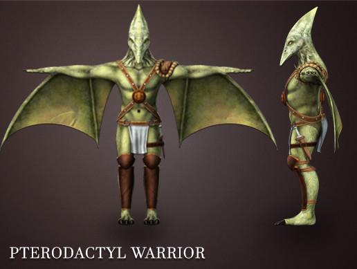 Pterodactyl Warrior Pack