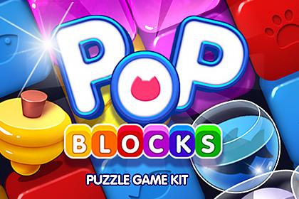 POP BLOCKS Puzzle Game Kit