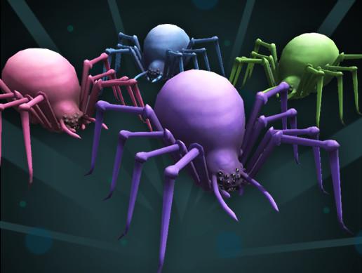Purple Fantasy Spider