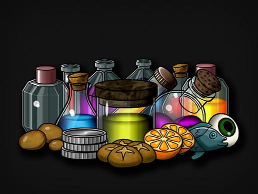 Toony Inventory Icons