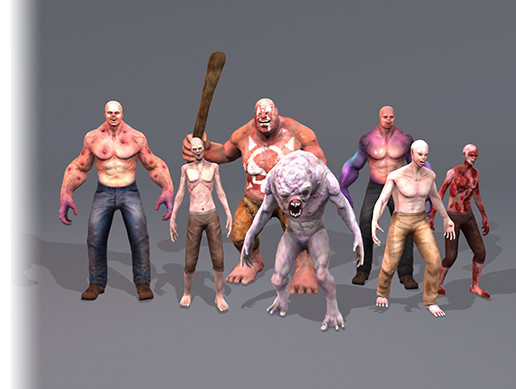 Characters Creature Pack