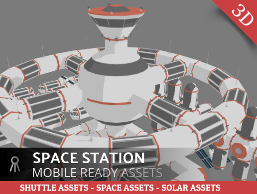 Space station assets