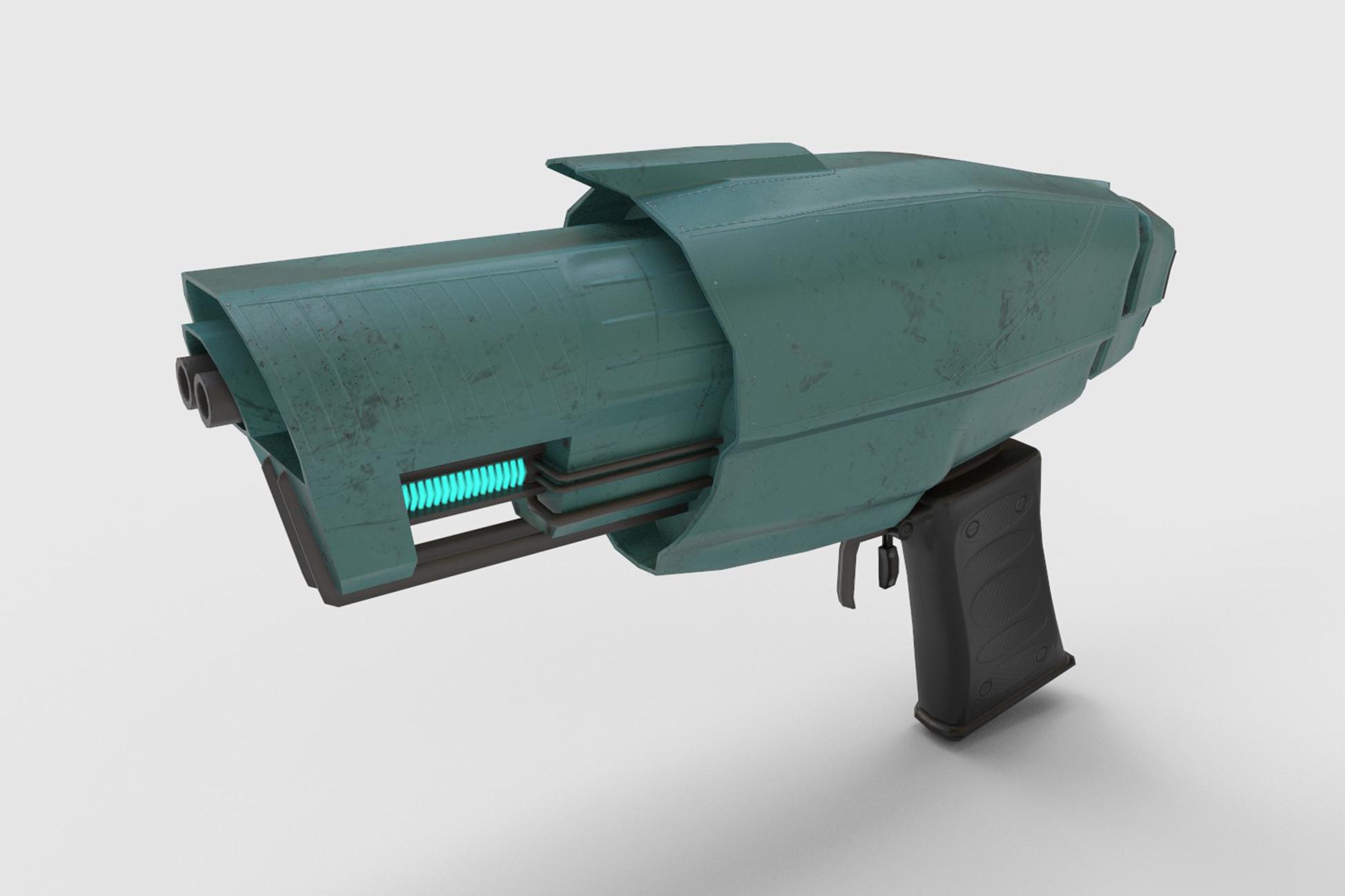 Sci-Fi Pistol #1