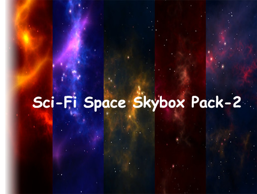 Sci-Fi Space Skybox Pack -2
