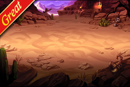 Great Battle Background_06(Desert)