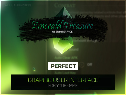 [GUI] Emerald Treasure — THE EMERALD INTERFACE