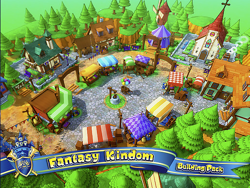 Fantasy Kindom - Building Pack