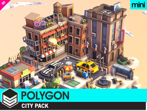 POLYGON MINI - City Pack