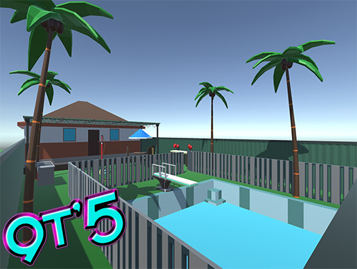Low Poly Pool Party Pack