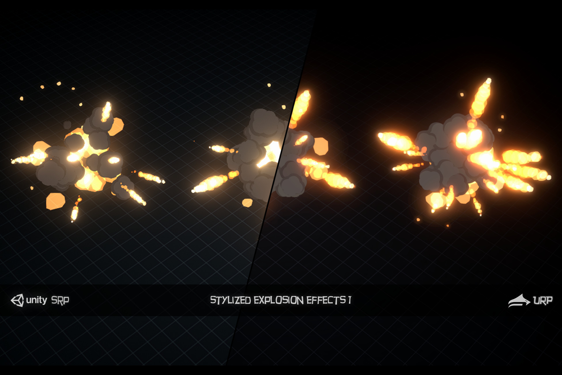 Stylized Explosion Effects 1
