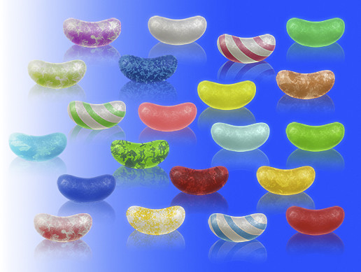 2D Jelly Bean Pack