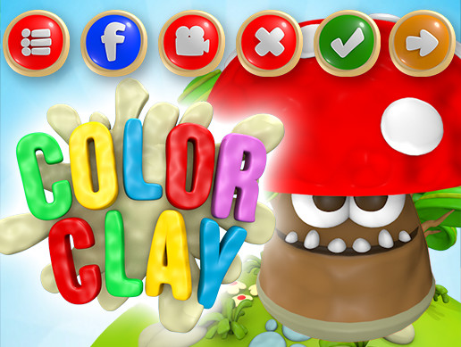 COLOR CLAY GUI PACK + ENDLESS JUMPER 2D