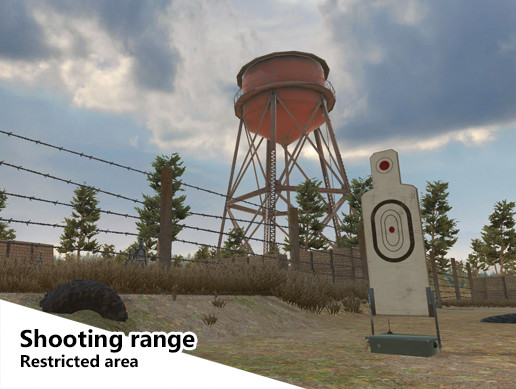 Shooting Range - Restricted Area