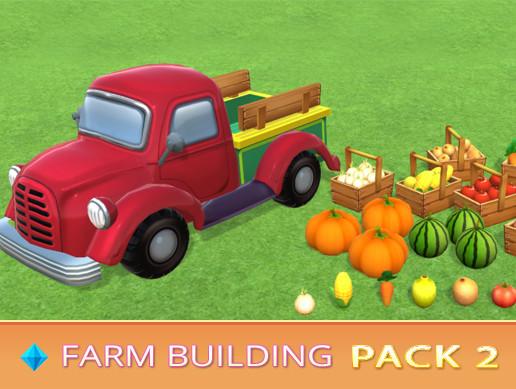 Farm Building PACK 2