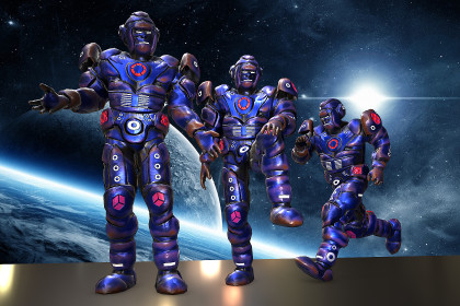 Robot Sci Fi Humanoid
