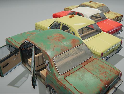 Old Soviet Sedan