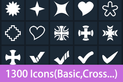 Clean Flat Icons 5