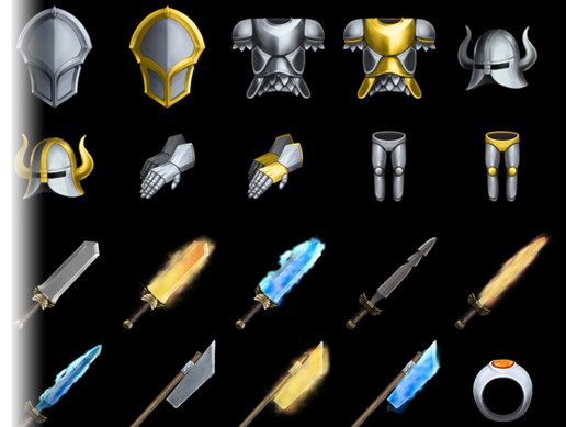Fantasy RPG items Vol. 5