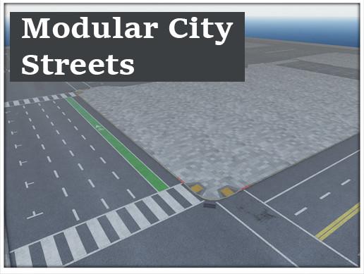 Modular City Streets - Optimized