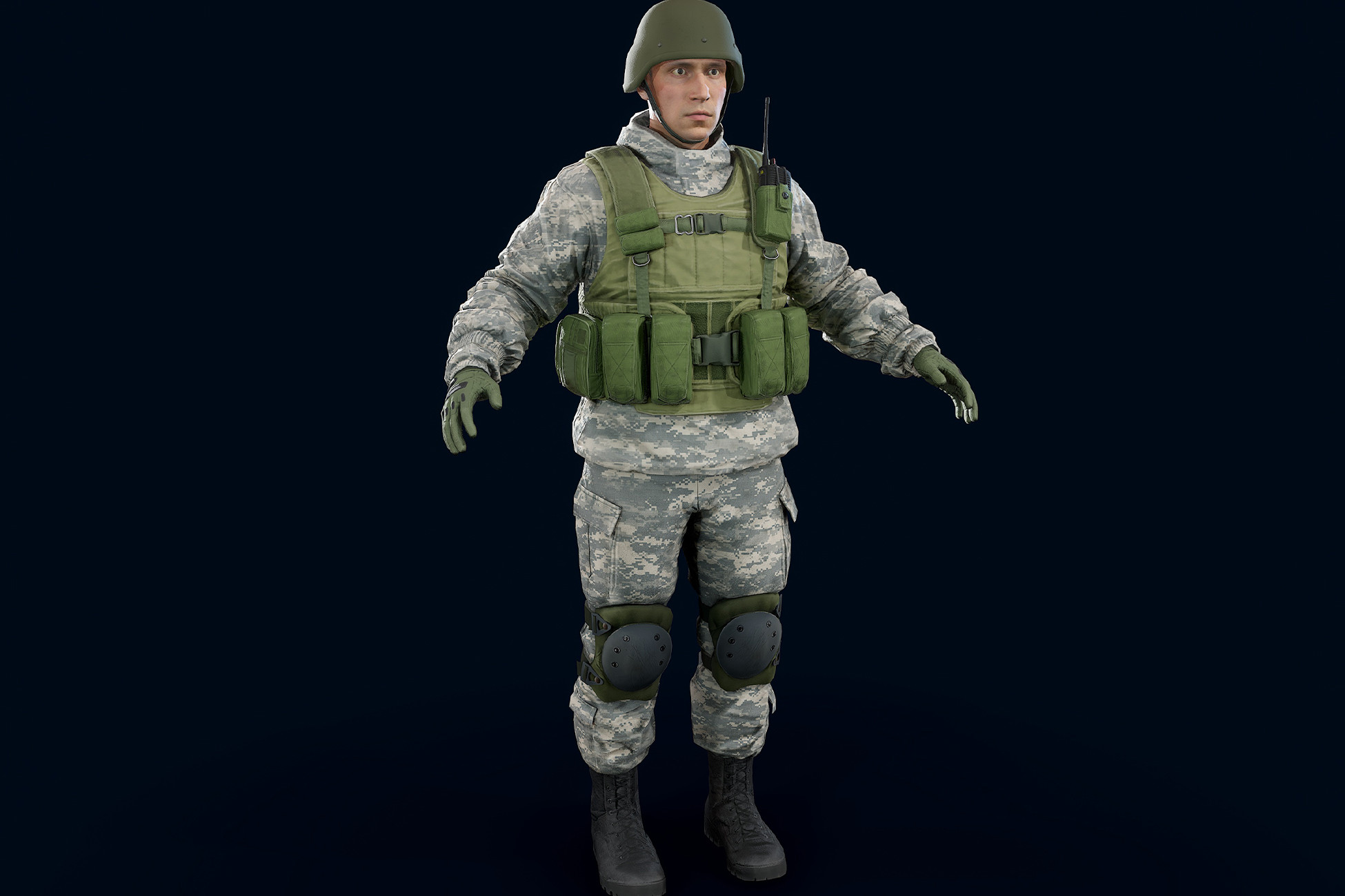 Male Soldier