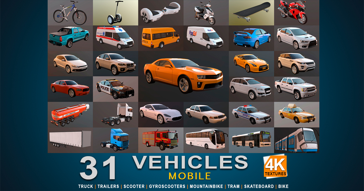 Mobile HQ Vehicles - Vol.1