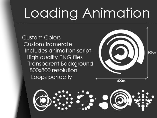 Loading Animations - 6 Pack