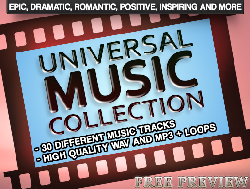 Universal Music Collection FREE PREVIEW - Asset Store