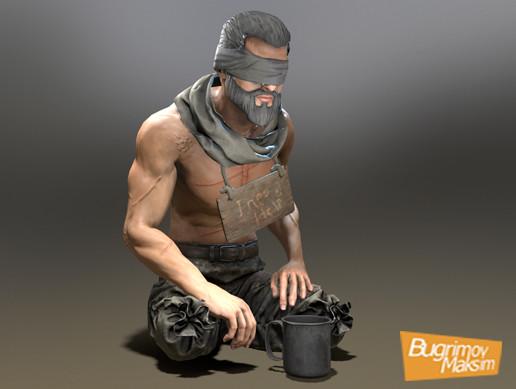 Character Beggar