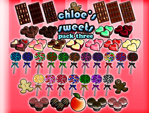 Chloe's Sweets: Icon Pack 3
