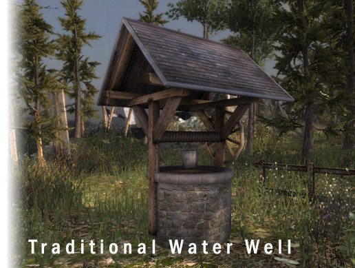 Traditional water well