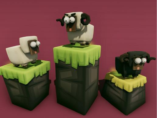 Sheep Run Platform Pack