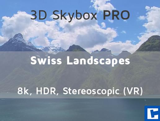 3D Skybox PRO - Swiss Landscapes