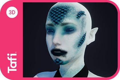 Agaope Female Fantasy from Tafi