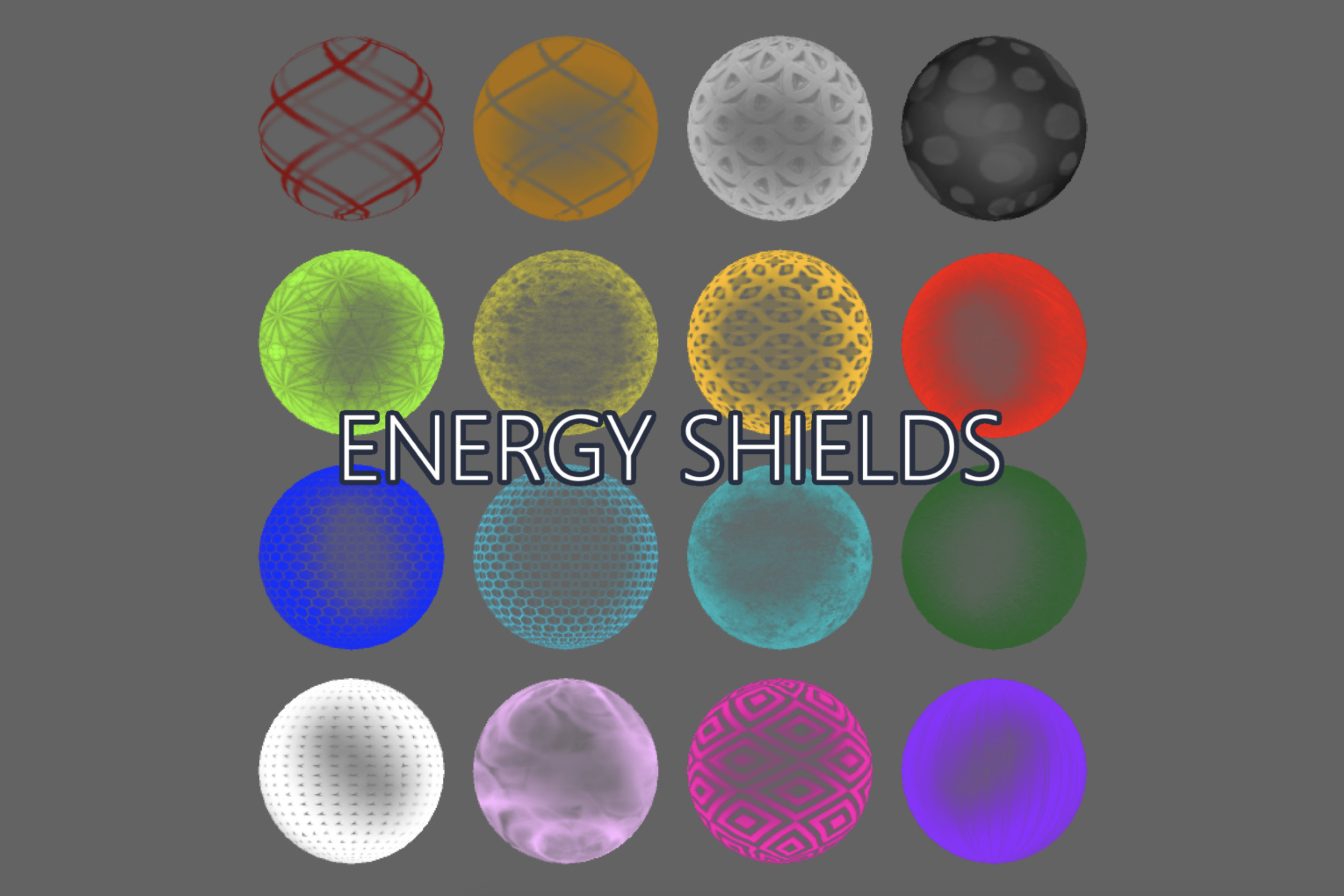 Energy Shields: SFX and Collisions