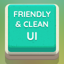 Friendly & Clean UI