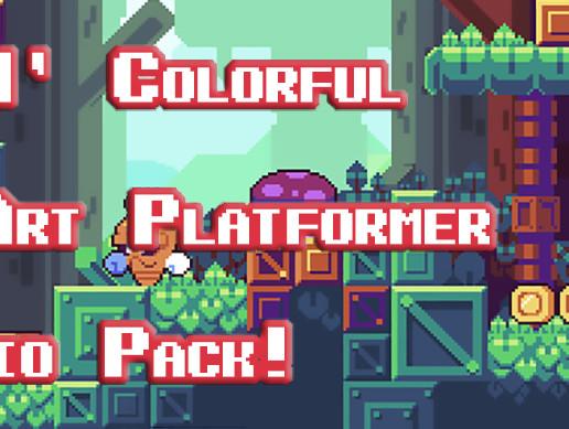 Cute n' Colorful 'Pixel Art Platformer' Audio Asset Pack!