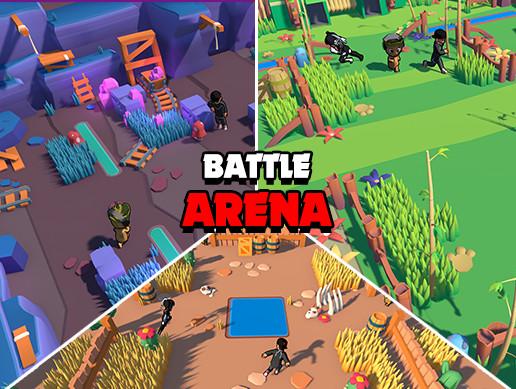 Battle Arena - Cartoon Assets