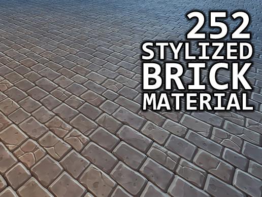Stylized Brick Materials