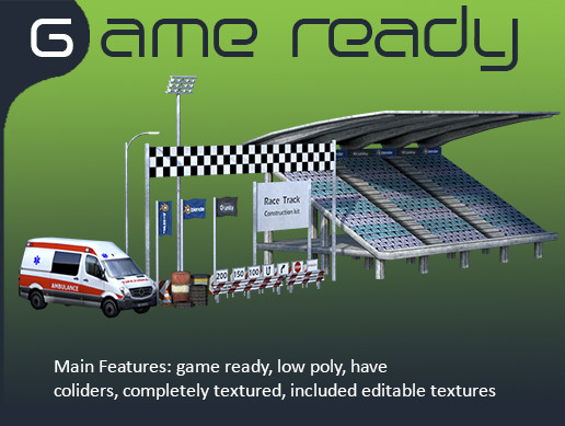 Race Track Assets Pack