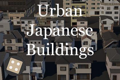 Urban Japanese Buildings