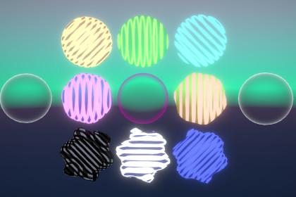 Hologram Effect Shader