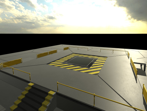 Launch Platform Pad PBR
