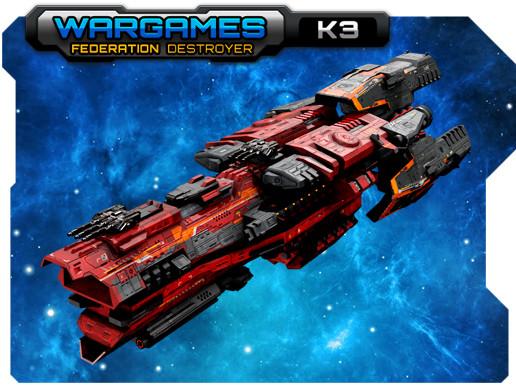 Federation Destroyer K3