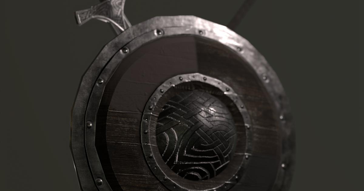 Shield,Sword,Spear